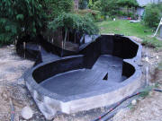 Spray Line Technologies Polyurea Coatings - Koi Ponds, Water Features, Industrial Coatings, Water Containment, Water Proofing